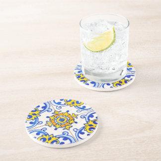 Azulejo Panel Tiles Drink Coaster