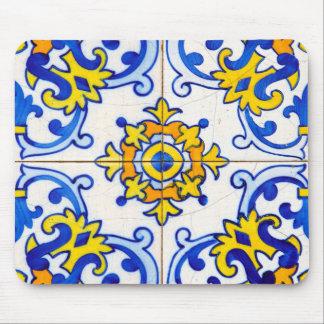 Azulejo Panel Tiles Mouse Pad