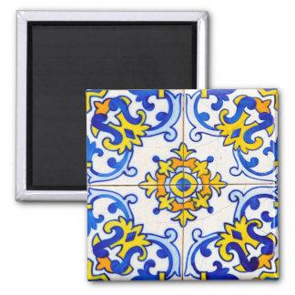 Azulejo Panel Tiles Refrigerator Magnets
