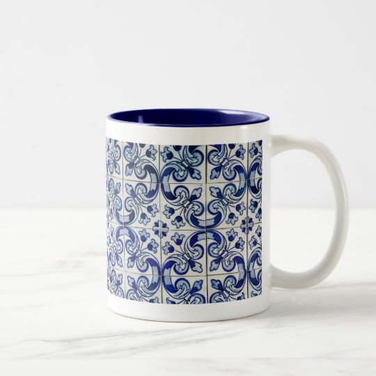 Azulejo Two-Tone Coffee Mug