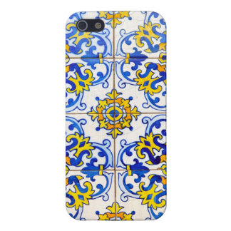Azulejos Ceramic tiles iPhone SE/5/5s Cover