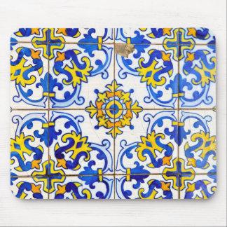 Azulejos Ceramic tiles Mouse Pad