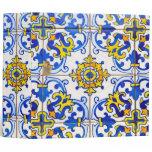 Azulejos Ceramic Tiles Office Binder