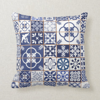 Azulejos Pattern Pillow