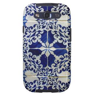 Azulejos, Portuguese Tiles Capas Galaxy SIII