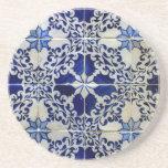 Azulejos, Portuguese Tiles Posavasos Diseño