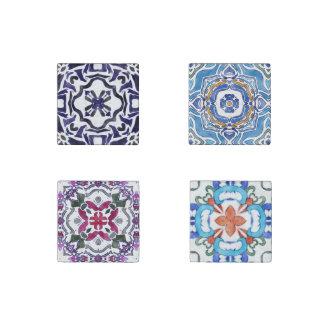 Azulejos Stone Magnet