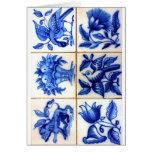 Azulejos Tarjeta De Felicitación