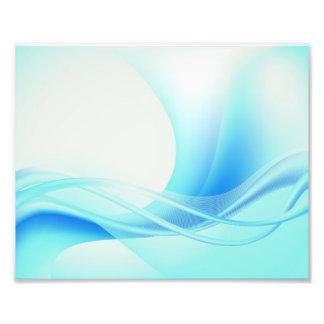 Azules abstractos cojinete