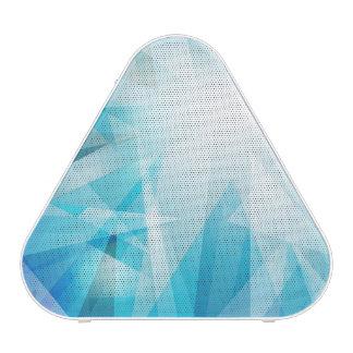 Azules abstractos/geométricos altavoz bluetooth