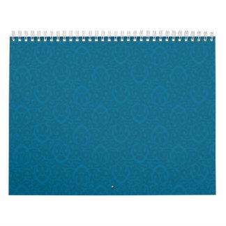 Azules barrocos del modelo calendario