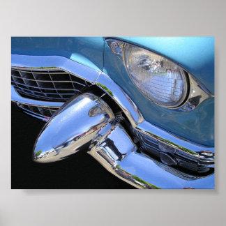 Azules cielos 55 Cadillac Póster