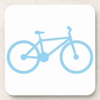 Azules cielos Bicycly Posavasos De Bebidas