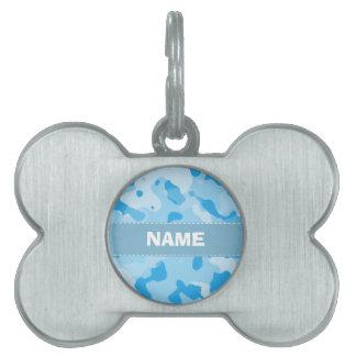 Azules cielos Camo; Camuflaje Placas Mascota