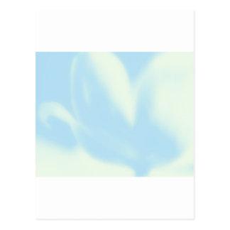 Azules cielos, tulipán de la MOD, plantilla de la  Postales