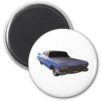 Azules claros 1959 de Cadillac Iman De Nevera