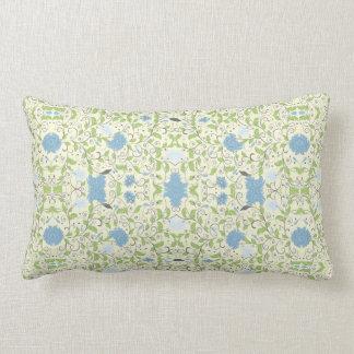 Azules claros almohada