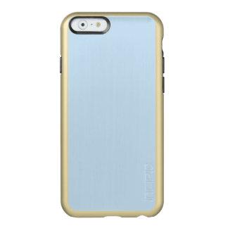 azules claros femeninos lindos modernos de la cita funda para iPhone 6 plus incipio feather shine