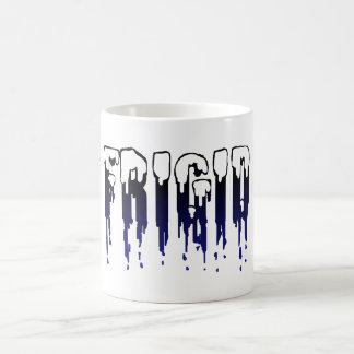 Azules claros frígidos taza clásica