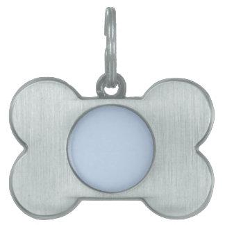 Azules claros placas mascota