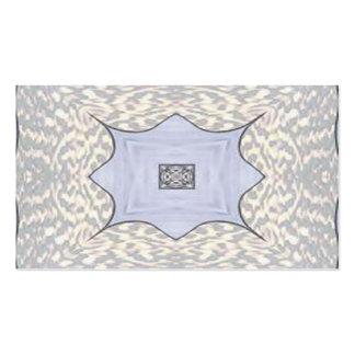 Azules claros y diseño gris tarjetas de visita