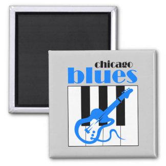 Azules de Chicago Iman De Nevera