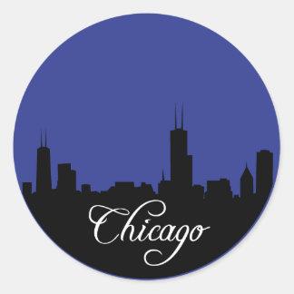 Azules de Chicago Etiqueta