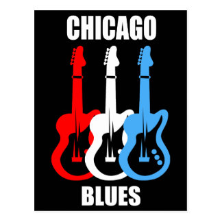 Azules de Chicago Postales