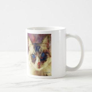 Azules de cobalto taza