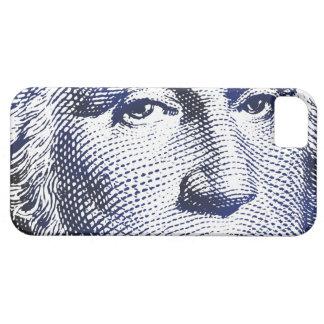 Azules de George Washington - caso del iPhone Funda Para iPhone 5 Barely There