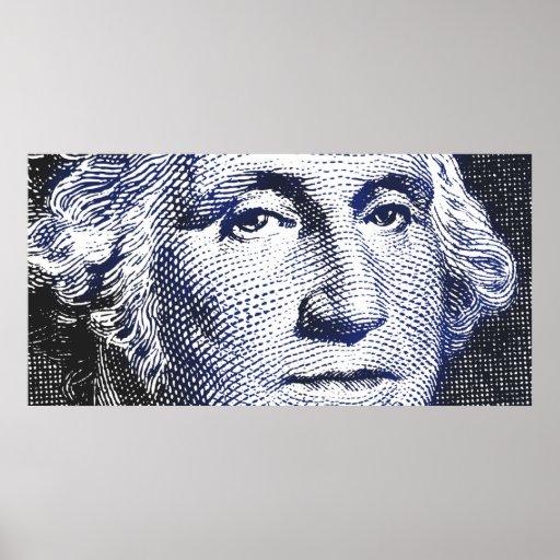Azules de George Washington - poster ancho