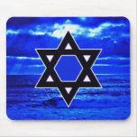 Azules de Judaicas Alfombrilla De Ratones