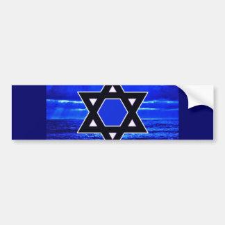 Azules de Judaicas Pegatina Para Auto