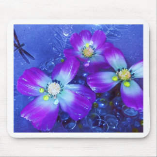 Azules de la lavanda tapete de raton