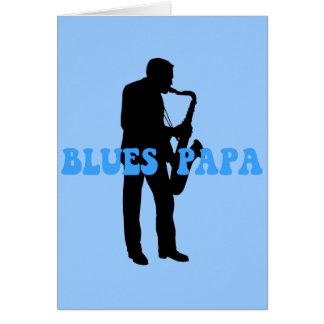Azules de la papá de los azules felicitaciones