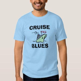 Azules de la travesía - esplendor del carnaval playeras