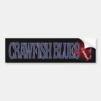 ¡Azules de los cangrejos! Pegatina Para Auto