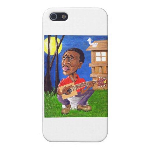 Azules de Midnite en el pantano iPhone 5 Carcasas