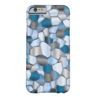 Azules de océano del mosaico funda barely there iPhone 6
