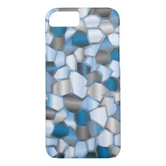 Azules de océano del mosaico funda iPhone 7