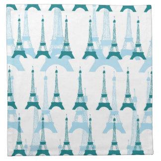 Azules de París Servilleta De Papel