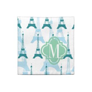 Azules de París Servilletas Imprimidas