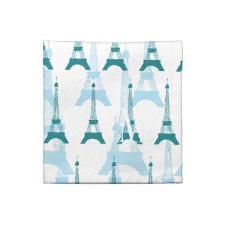 Azules de París Servilleta Imprimida