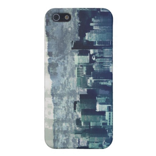 Azules de San Citysco iPhone 5 Funda
