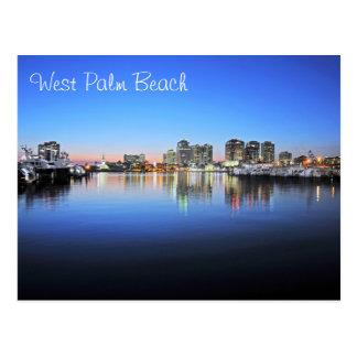 Azules de West Palm Beach Tarjeta Postal