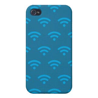 Azules de Wifi iPhone 4 Carcasa