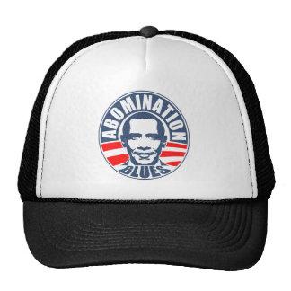 Azules del aborrecimiento de Obama Gorro