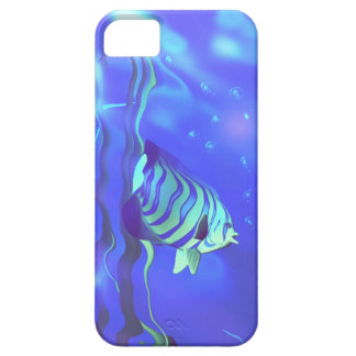 Azules del Angelfish iPhone 5 Case-Mate Protector