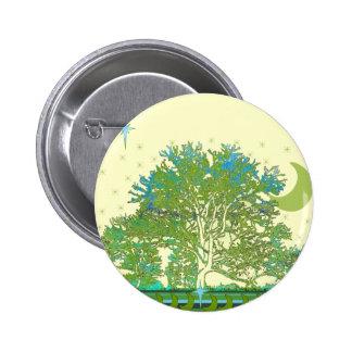Azules del árbol pin redondo de 2 pulgadas