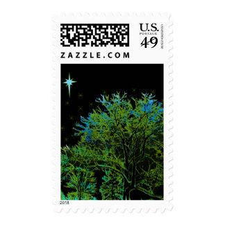 Azules del árbol franqueo